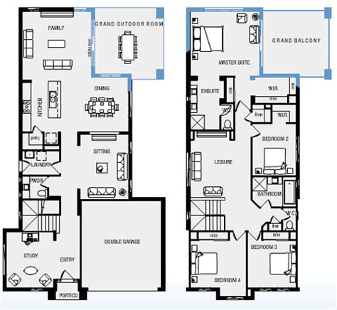 metricon floor plans metricon homes house plans house plans