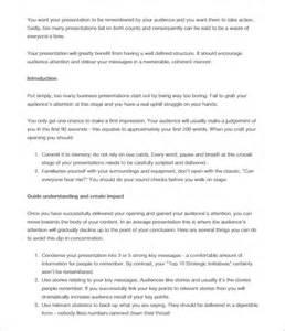 Doc Presentation Templates by Doc 585650 Presentation Outline Templates 7