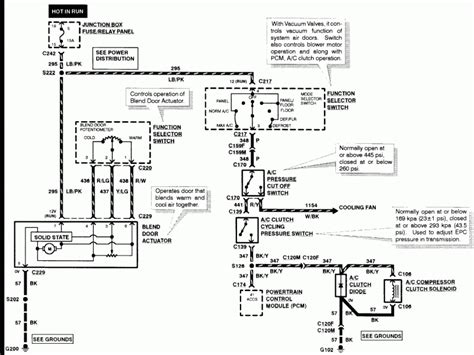 ford expedition air conditioning diagram wiring forums