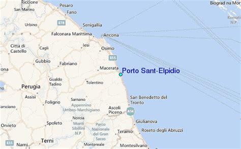 mappa porto sant elpidio porto sant elpidio tide station location guide