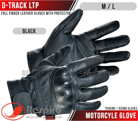Sarung Tangan Kulit Carbon Look Protector d track ltp toko jaket respiro jaket motor