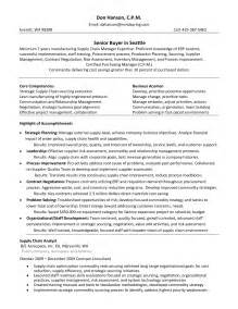 resume exle retail buyer resume sle retail