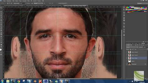 making texture hd face tutorial for pes 2014 youtube