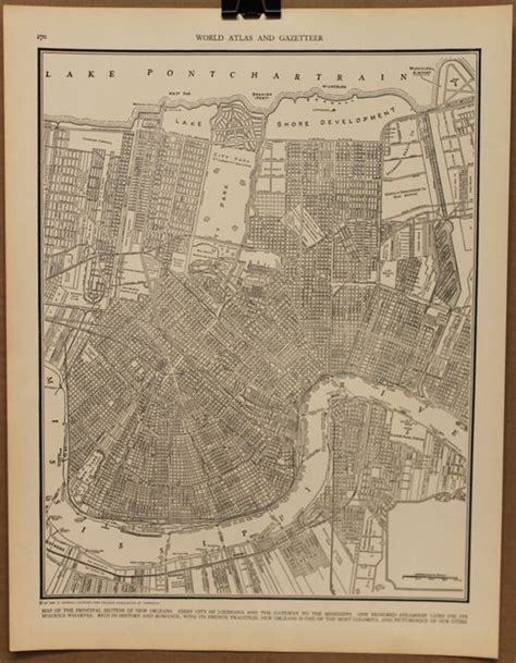 new orleans historical maps map new orleans history of new orleans