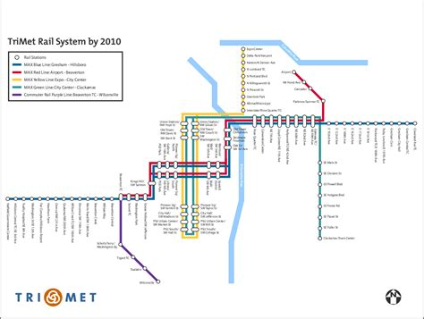 trimet max map rosecitytransit org future official trimet rail map