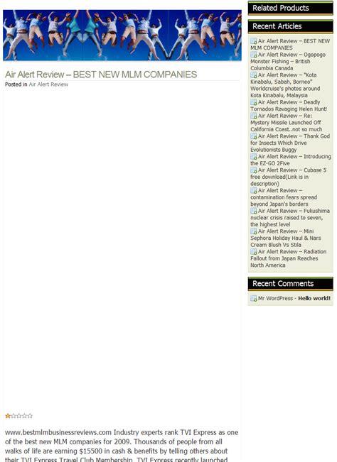 best new mlm kasey s korner more splogs spam blogs posting