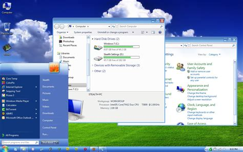 themes for windows 7 design transform windows graphical interface in windows xp 7