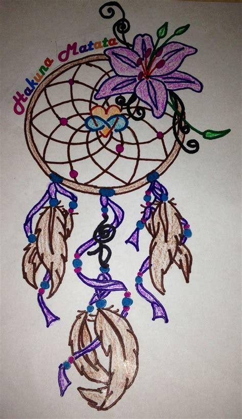 dreamcatcher infinity tattoo my tattoo design dream catcher tiger lily hakuna