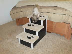 Puppy On Stairs by Dog Steps Cat Stairs 18 High Designer Dog By