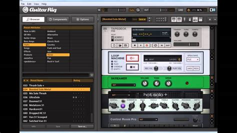 Tutorial Guitar Rig 5 Pro | descargar guitar rig 5 pro full y tutorial youtube