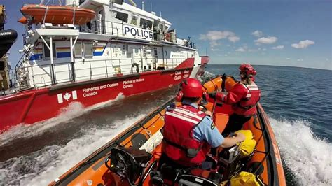 canadian coast guard boats canadian coast guard inshore rescue boat 2016 youtube
