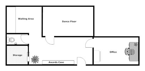 dance studio floor plan dance studio layout