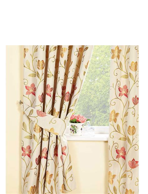 canterbury floral curtains canterbury luxury lined jacquard curtains by rectella home