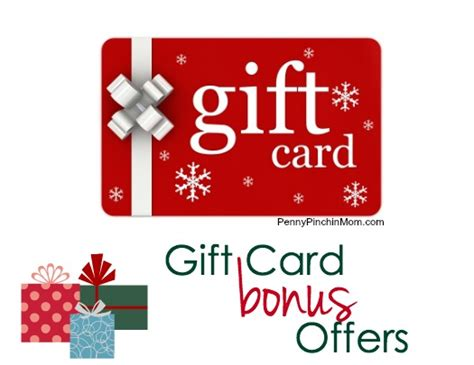 Bonus Gift Cards - gift card bonus offers 2014