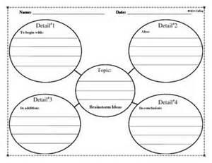 gallery for gt brainstorming worksheet for writing