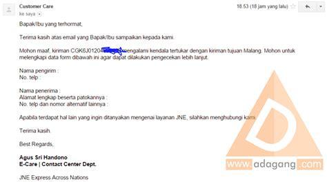 Email Jne | jne kirim email kasurnet com