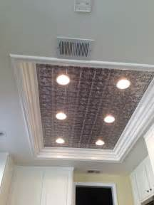 Kitchen Ceiling Light Ideas Remodel Fluorescent Light Box In Kitchen Don T Like Tin