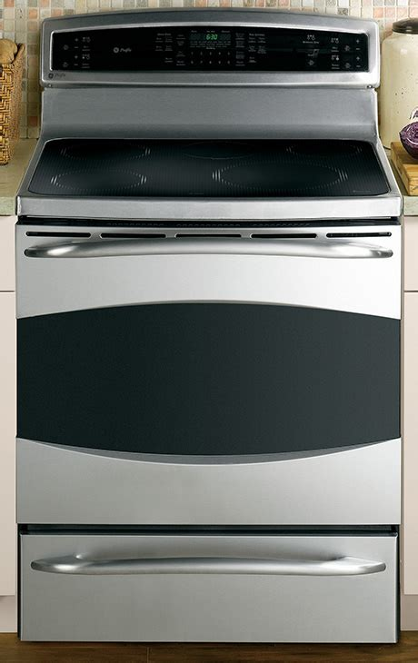 ge electric induction range free standing induction range new ranges from ge profile