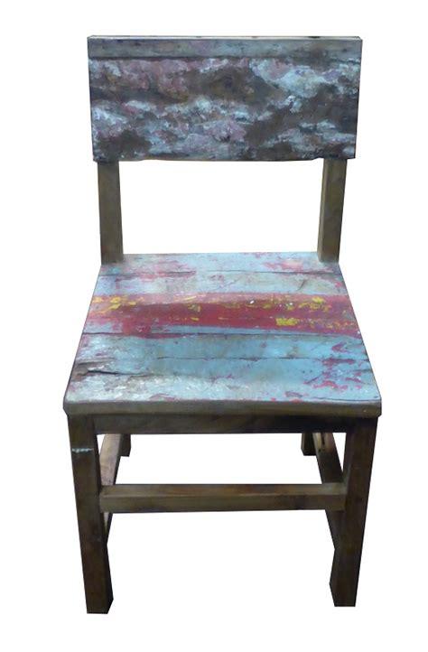 chaise bateau chaise en bois de bateau mf 063 mf 063