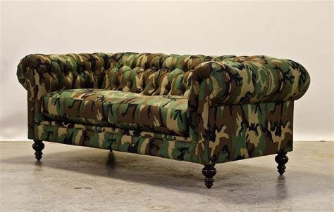 camouflage couch woodland camo chesterfield sofas charlotte by cococo