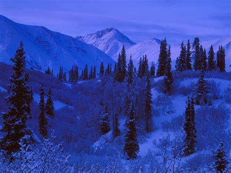 imagenes de paisajes azules nieve con tonos azules wallpapers gratis imagenes
