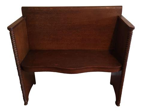 antique deacons bench antique deacon s bench chairish