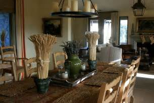 Farmhouse Dining Room Table Centerpieces Wine Country Living Rooms With Vineyard Views Cococozy