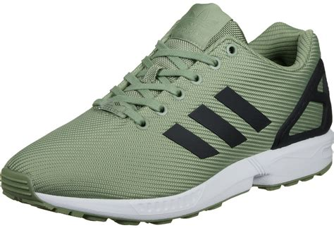 adidas sneakers zx flux adidas zx flux shoes green black white