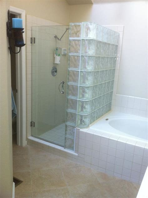 glass block bathroom shower ideas statue of top selections of modern shower tile bathroom