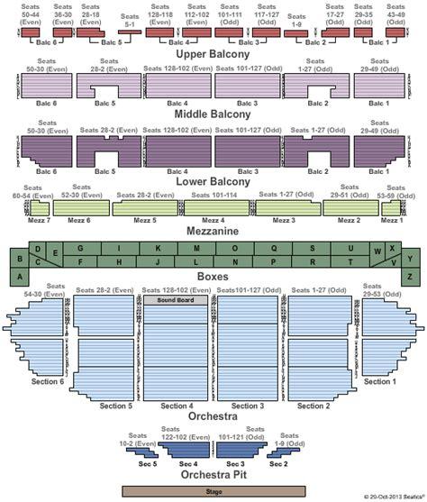 fox st louis seating chart fabulous fox theatre louis tickets louis