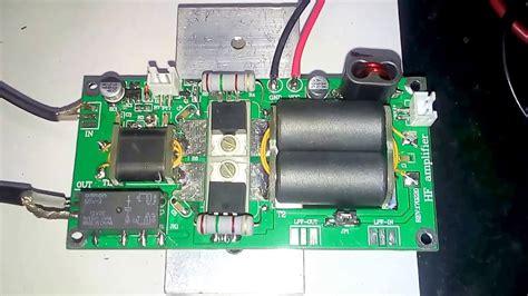Power Lifier Linear testing hf linear lifier diy kits 70w ssb linear hf power lifier for yaesu ft 817
