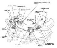 honda gold wing gl1500 audio system radio wiring diagram