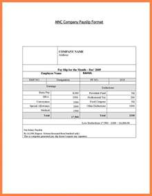excel payslip template doc 673473 sle of payslip salary payslip format