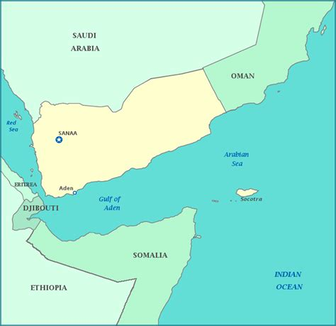 map of yemen map of yemen republic of yemen maps mapsof net