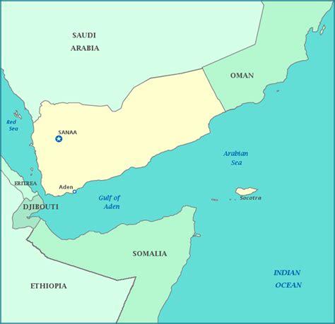 map  yemen