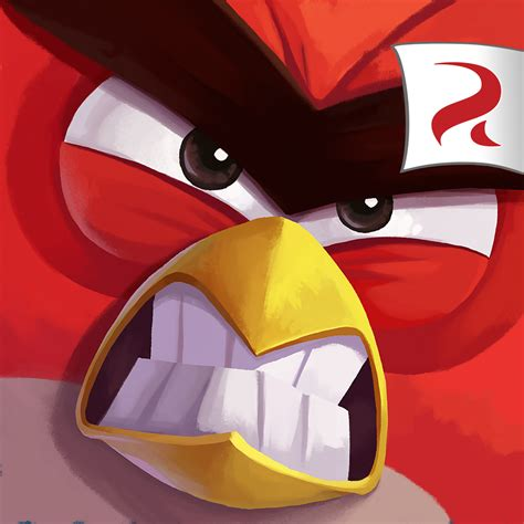 angry on a tribute to angry birds