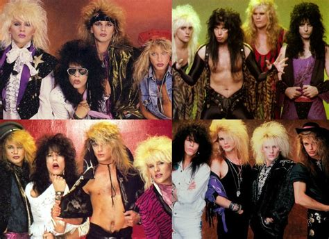 80s rock band hairstyles the evolution of glam rock fashion