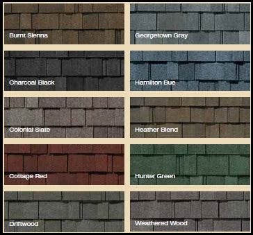 certainteed shingles colors chart metal roofing siding color chart images