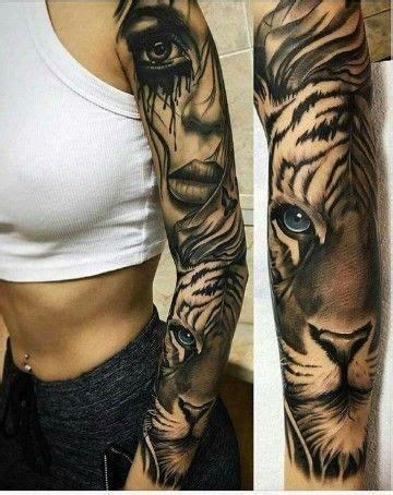 animal tattoo sleeve tumblr tatuajes para mujer en el brazo