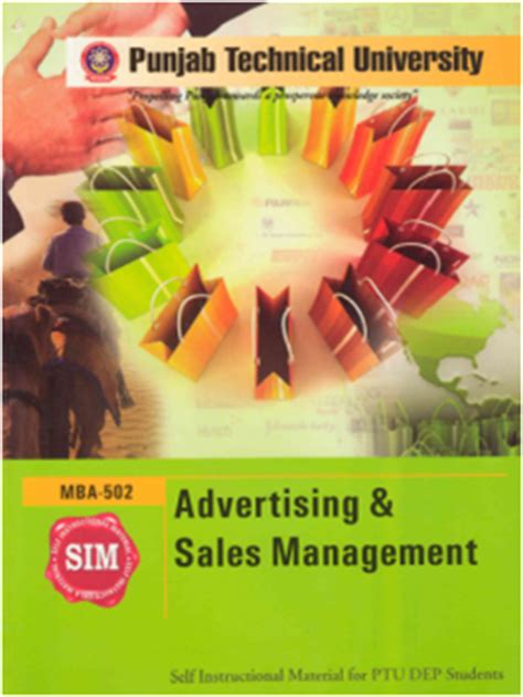 Free Mba Study by Free Mba Study Material From Sahni Ptu Marketing E Books