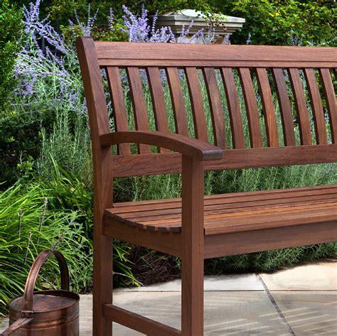 ipe bench ipe garden bench traditional outdoor wood bench