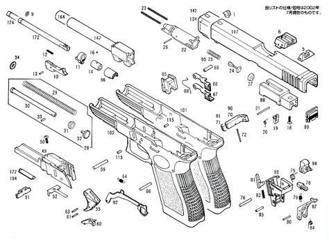 glock parts diagram diagram glock 19 exploded diagram