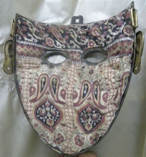 Topeng Mask Lace Misterius inside of a ottoman turkish islamic empire soldier mask armor ideas