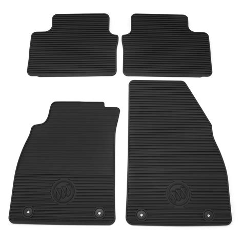 Buick Floor Mats by 2016 Buick Regal Premium All Weather Front And Rear Floor