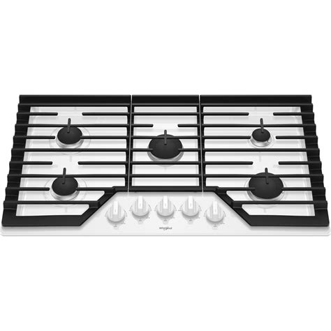 best buy gas cooktop whirlpool 36 quot gas cooktop white wcg55us6hw best buy