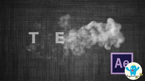 tutorial after effect smoke after effects tutorial smoke text effects versi on the spot