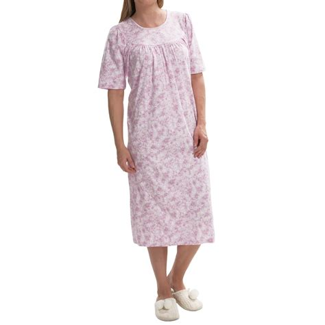 Soft Cotton For calida soft cotton nightgown for save 48