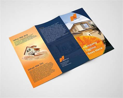 tri fold brochure template indesign cs6 real estate tri fold brochure template on vectogravic design