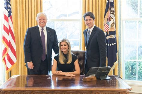 trump in oval office ivanka trump gets slammed for oval office desk picture
