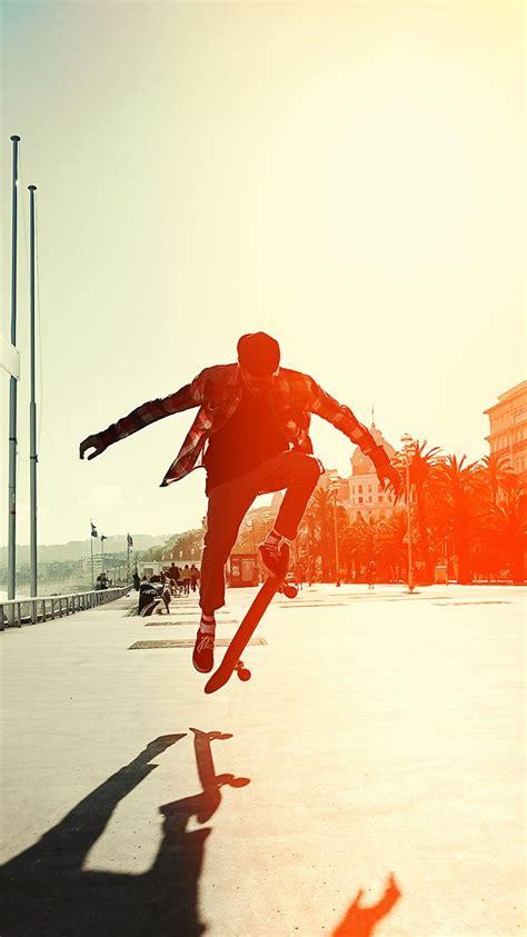 skate jump wallpaper  iphone